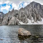 Lac Agoulmime hiver