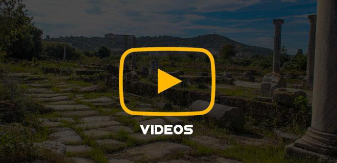 Vidéos des sites archéologiques