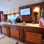 Réception de l'hôtel Abbasside Palace