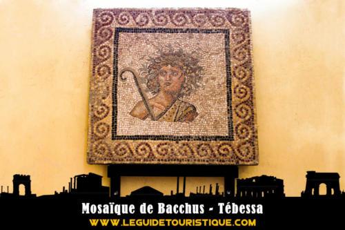 Mosaique de Bacchus