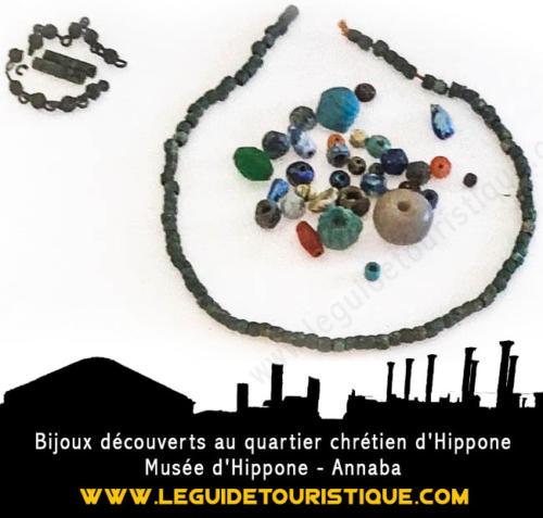 Bijoux à Hippone
