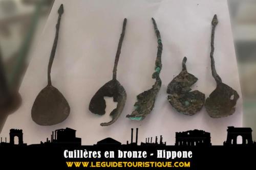 Cuillères en bronze