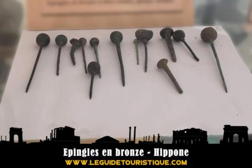 Epingles en bronze - Hippone