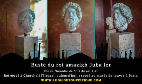 Buste du roi Juba Ier