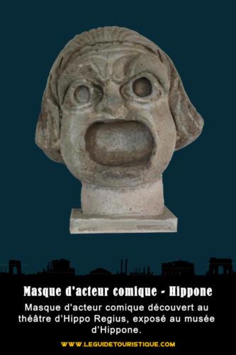 Masque d'acteur comique