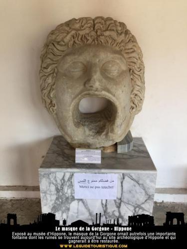Le masque de la Gorgone - Hippone