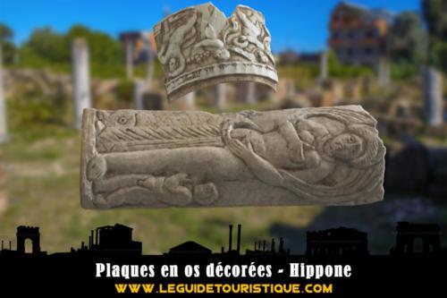 Plaques en os décorées, époque romaine