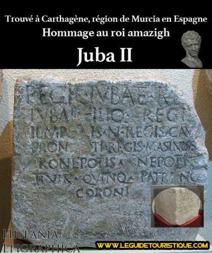Hommage au roi Juba II