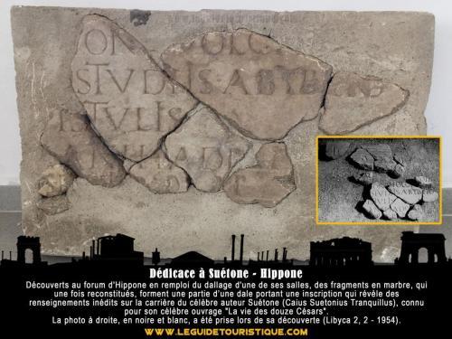 Dédicace à Suétone - Hippone