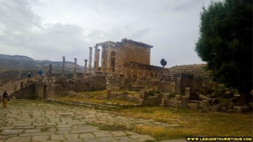 Temple de Septime Sévère Djemila