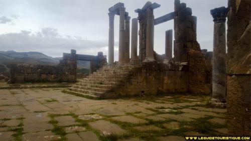 Temple à Djemila