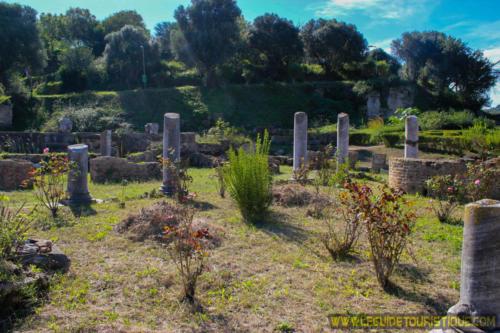 Jardin et cartier des villas d'Hippone