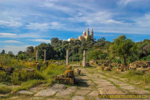 Basilique Saint Augustin et Forum d'Hippone