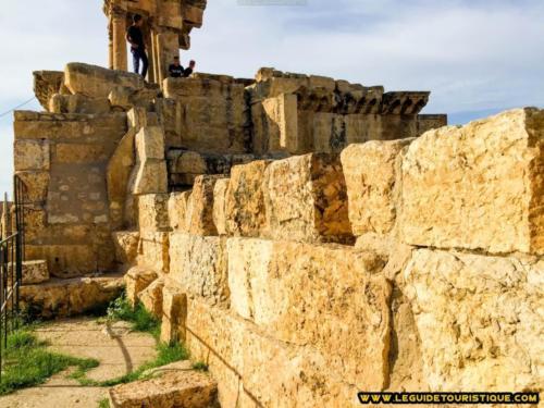 Muraille byzantine et arc de Caracalla de Thevest (Tébessa)