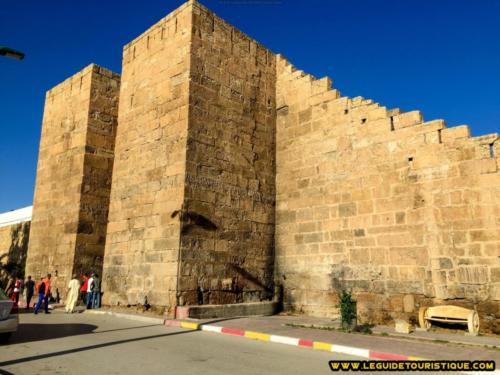 Muraille byzantine (Porte de Salomon) de Thevest (Tébessa)