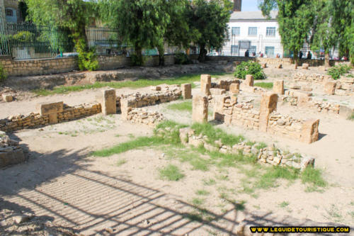 Ancien palais de Thevest (Tébessa)