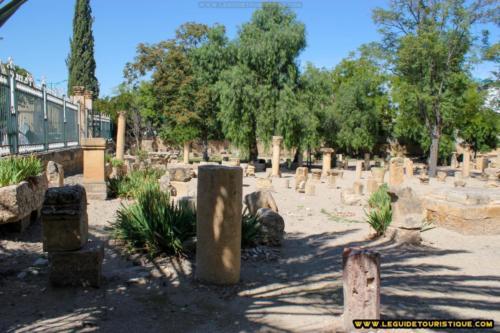 Jardin archéologique de Tébessa
